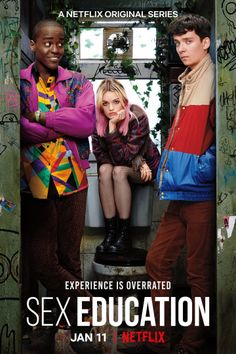 High Quality Original Posters for Sex Education Comedy, Drama, Netflix, TV Show. Gillian Anderson, Stephen Colbert, Mean Girls, Movies And Series, Tv Series, Asa Butterfield, Ted Bundy, Netflix Original Series, Sex