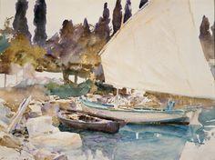 John Singer Sargent | Boats | The Metropolitan Museum of Art