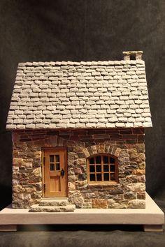 miniature stone house