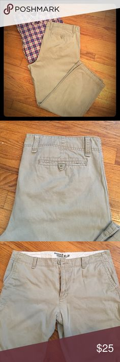Men's Old Navy khakis Men's Old Navy khaki pants. Barely worn. Open to offers. 💜 Old Navy Pants Chinos & Khakis