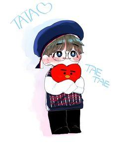 y conosco a mi hermano :o from the story Hermana de Kim TaeHyung (Mark y Tu) by FranKvte (KtJk) with reads. Fanart Bts, Taehyung Fanart, Bts Taehyung, Bts Chibi, Bts Drawings, Cartoon Drawings, Bts Cute, Vkook, Dibujos Cute