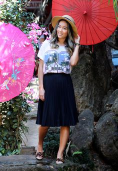 japanese make up, midi skirt; saia midi; como usar; get trendy; renata ferraz; fashion looks; street style; sao paulo; bloggers; brazilian fashion;