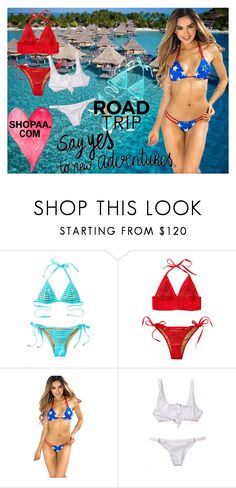 """""""Summer is here go to Shoppa.com"""" by chiqiyoly ❤ liked on Polyvore featuring Bora Bora, Beach Bunny, polyvoreeditorial and shopaa"""