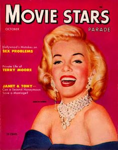 Marilyn Monroe Movie Stars Cover - www.MadMenArt.com | Actress, model, singer…