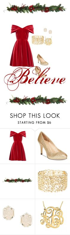 """""""Merry merry"""" by princessglitter22 ❤ liked on Polyvore featuring Emilio De La Morena, Style & Co., Charlotte Russe and Kendra Scott"""