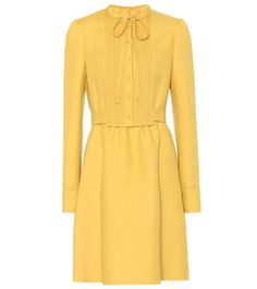 Redirecting you to Mytheresa for Valentino Wool and silk dress. Woolen Dresses, Wool Dress, Silk Dress, Modest Dresses, Sexy Dresses, Short Dresses, Fashion Dresses, Top Model Fashion, Cute Fashion