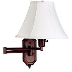 Kenroy Home Nathaniel Bronze Plug-in Swing Arm Wall Light - Style # K7937