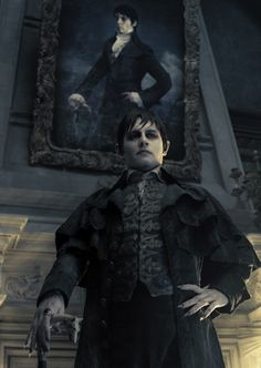 Johnny Depp as Barnabas Collin in Dark Shadows. Cant wait for the movie.