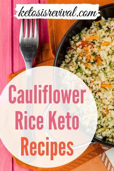 Cauliflower has become a popular substitute for rice. It can be purchased at stores nowadays as well as making it from scratch. Ketosis Revival has compiled a list of several recipes that will go well with this food, including chicken, ground beef, meat, cheese and more. This is a low calorie, low carb, and keto-friendly food that is versatile and easy to make yourself and in so many ways. To get your hands on our comprehensive guide download here…#cauliflowerrice #ketorecipe… Cauliflower Fried Rice, Cauliflower Recipes, Keto On The Go, Low Carb Recipes, Healthy Recipes, Chicken Livers, Grilled Meat, Recipes For Beginners, Yummy Food