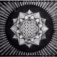 Mandala Designs, flower of life, sacred geometry mandala Polynesian Tattoo Designs, Tattoo Designs Men, Geometry Art, Sacred Geometry, Illusions Mind, Cloud Drawing, Art Studio At Home, Cartoon Tattoos, Mandala Tattoo Design