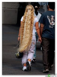 Women with really long hair : theCHIVE