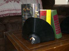 Vintage RCA Victor Vinyl Record Bookends. $10.00, via Etsy.