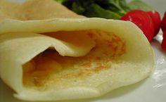 Receita da dieta da proteína: panqueca light de requeijão faz parte do livro 'Receitas Dukan'.