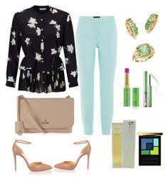 """""""Untitled #320"""" by mamatoodie-1 ❤ liked on Polyvore featuring Piazza Sempione, Marella, Christian Louboutin, Vivienne Westwood, Palm Beach Jewelry, BillyTheTree, Tata Harper, Sephora Collection, Michael Kors and Yves Saint Laurent"""