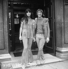 SONNY & CHER! - SONNY BONO & CHER - 60'S BELLBOTTOMS