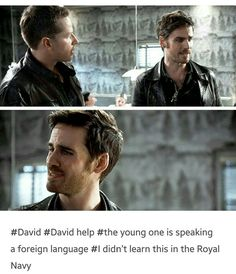 I love it when Hook doesn't know stuff because he just gets so confused and it's so funny! He's great. XD