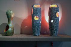 Thomas Fritsch, Ceramic Light, Modern Ceramics, Clay Art, Handicraft, Texture, Gallery, Glass, Pots
