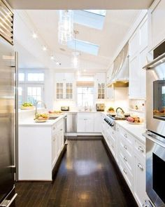 Loving the light these skylights and windows bring into this kitchen! Just looking at ... | Use Instagram online! Websta is the Best Instagram Web Viewer!