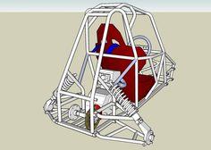 Imagem relacionada Go Kart Buggy, Off Road Buggy, Build A Go Kart, Go Kart Parts, Karting, Pedal Cars, Jeeps, Welding, Dune