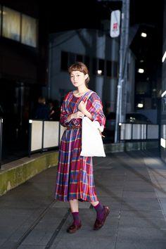 ストリートスナップ原宿 - 阿部 朱梨さん | Fashionsnap.com