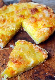 Rustic potatoes and mozzarella   Rustico patate e fiordilatte ricetta veloce   Arte in Cucina