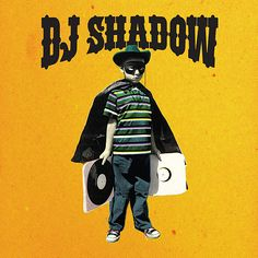 """""""The Outsider"""". Dj Shadow. Album art. Design by Paul Insect."""