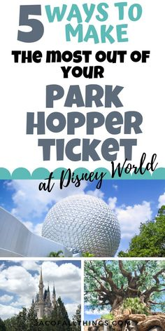 Park Hopper tickets allow you to visit multiple theme parks in a single day at Disney World. Here& how to make the most of the Park Hopper ticket for your next Disney World vacation! Disney World Florida, Disney World Parks, Walt Disney World Vacations, Disney World Resorts, Disney Travel, Disney World Must Do, Disney World Secrets, Disney World Planning, Disney World Tips And Tricks