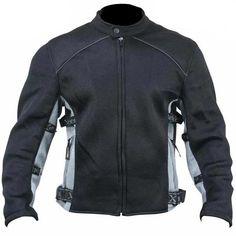 <b>Xelement 'CF-505' Mens Black Mesh Sports Jacket</b>