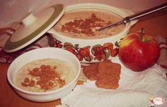 Winterse appelvla Hummus, Camembert Cheese, Winter, Ethnic Recipes, Desserts, Food, Homemade Hummus, Winter Time, Deserts
