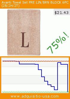 Avanti Towel Set PRE LIN/BRN BLOCK 6PC (2B/2H/2T) (Misc.). Drop 75%! Current price $21.43, the previous price was $85.85. https://www.adquisitio-usa.com/avanti/towel-set-pre-linbrn-7