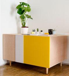 fi · DIY Flat files cabinet · DIY Planera · Fábrica de Imaginación