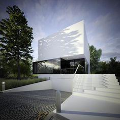 Twisting House in Wroclaw by Kazmierczak, Igor as Architect