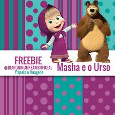 KIT DIGITAL MASHA E O URSO BAIXAR GRÁTIS - Cantinho do blog