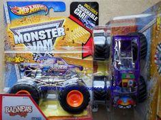 2013 Hot Wheels Bad News Travels Fast X-Rays Monster Jam Truck 1/64 K Case X RAY #HotWheels #MONSTERJAM