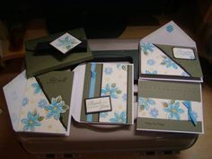 cards and holder