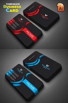 Company Business Cards, Make Business Cards, Professional Business Card Design, Luxury Business Cards, Business Card Psd, Elegant Business Cards, Game Design, Web Design, Logo Design