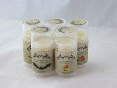 Solid Lotion Bar in Mango Papaya - Sweet and Fruity Scent 1.4oz Lotion Tube. $6.00, via Etsy.