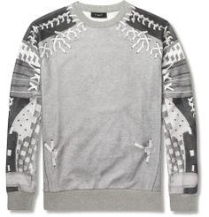 GivenchyBaseball-Print Jersey Sweatshirt MR PORTER