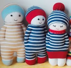 Learn How To Make The Cutest Sock Dolls EVER With This Easy DIY Video