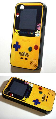 Funda para simular un Game Boy en tu iPhone.