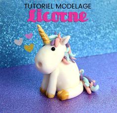 Découvrez notre tutoriel du modelage licorne ! C'est super simple, super magique ! Pour décorer vos gâteaux en pâte à sucre, cupcakes...