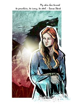 Sansa Stark - Game of Thrones - Robbertopoli.deviantart.com