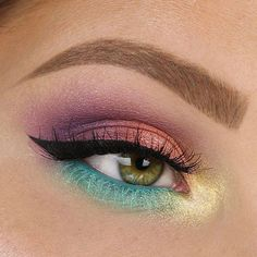 Intenta colores pasteles para ver cómo te queda #eyeshadow #Sweet #Eyes #MakeupGeek