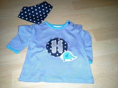 Kindershirt mit wendehalstuch Onesies, Baby, Kids, Clothes, Fashion, Young Children, Outfits, Moda, Boys