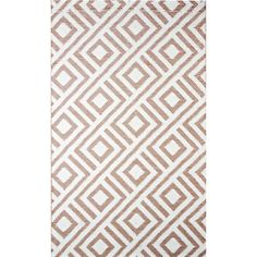 $115.99 9 X 12 A reversible pattern between the front and back sides of this gorgeous b.b.begonia rug allows you to match it with your decor. The tubular yarn is breathable and will not kill the grass it sits on. Comes with a free bag to easily carry or store the rug.