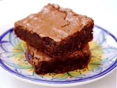 Fudgy brownies from The Essence of Chocolate - one of my two top brownie recipes
