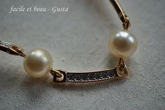 facile et beau - Gusta: Perlen, Glitzer und Gold