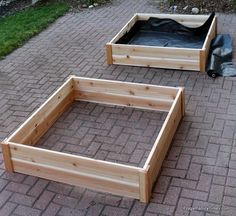 How to Build Raised Garden Bed Boxes (Growing Vegetables in our Driveway) | Frugal Family Times