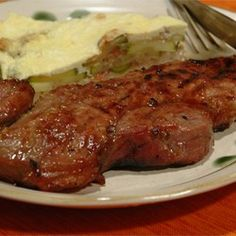 Rib Eye Steaks with a Soy and Ginger Marinade - Allrecipes.com