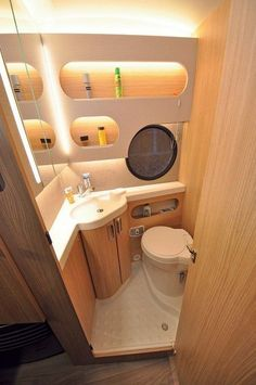 Best 13 Amazing Small Rv Bathroom Toilet Remodel Ideas camperlife co If you have seen a musty smell&; Best 13 Amazing Small Rv Bathroom Toilet Remodel Ideas camperlife co If you have seen a musty smell&; Camper Life, Truck Camper, Bathroom Toilets, Small Bathroom, Bathroom Ideas, Shower Bathroom, Bathroom Mirrors, Budget Bathroom, Wc Camping Car